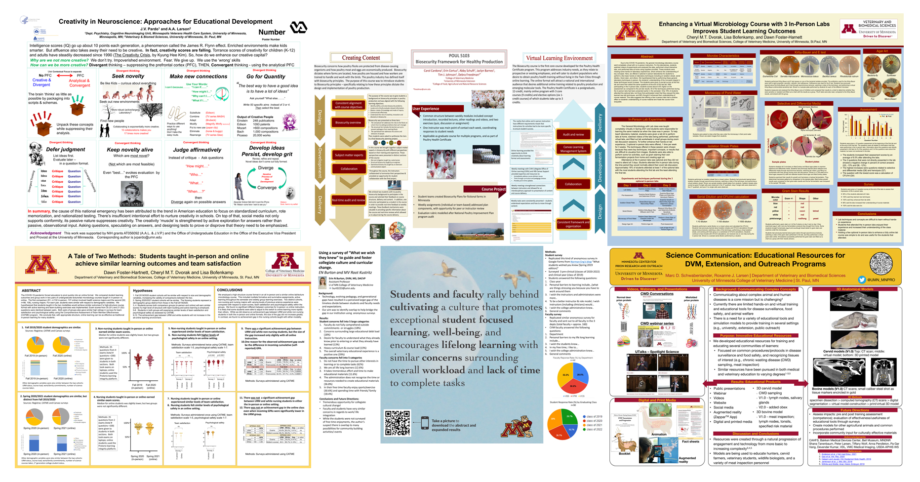 VBS 2021, CVM Education Day poster collage