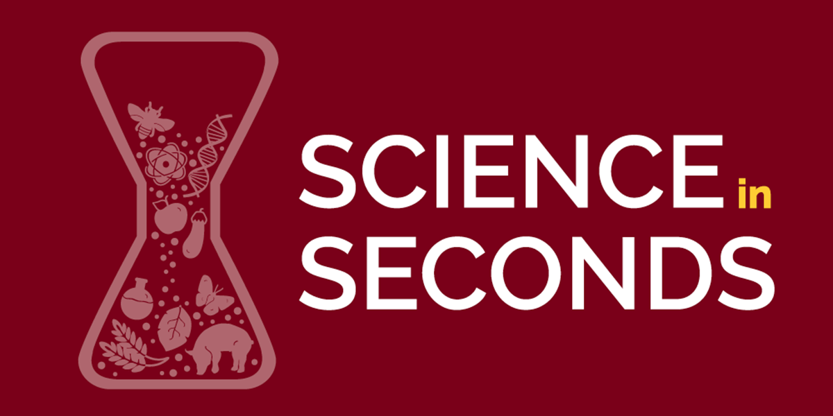 Science in seconds logo