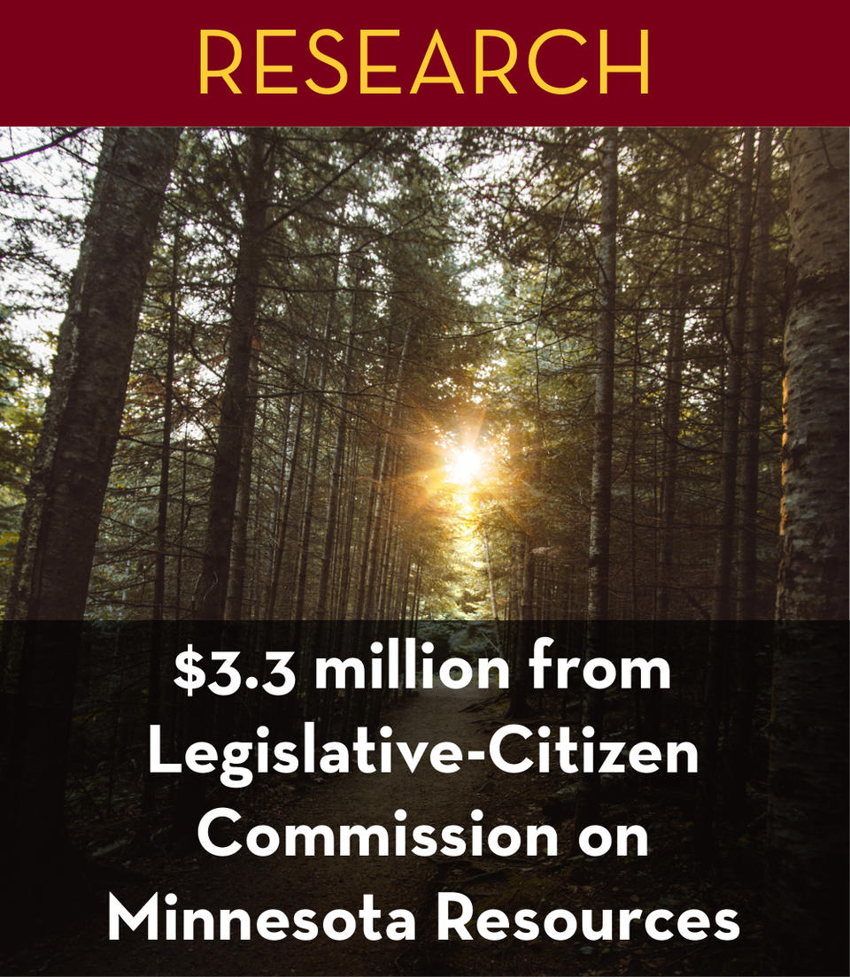 Investing in Minnesota's environment