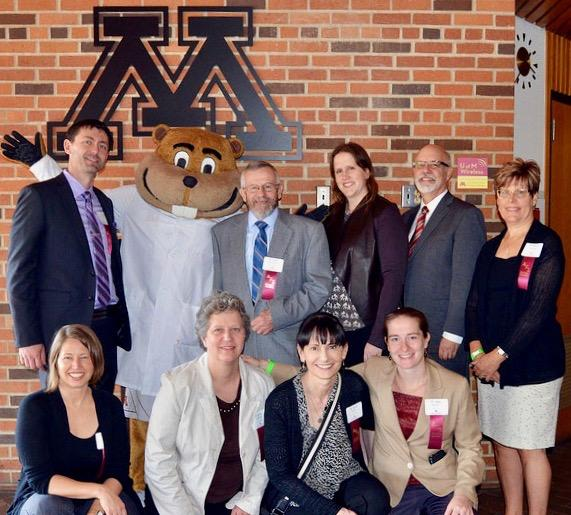 AFS Board with Goldy the Gopher